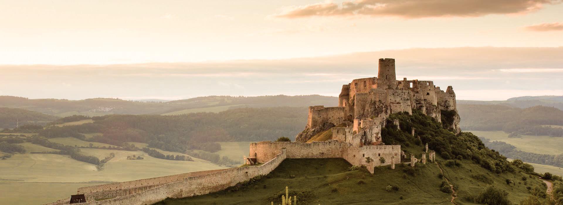 Spišský hrad západ slnka ponuka preklady Levoča nemčina